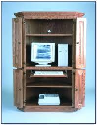 Small Corner Computer Armoire Desk Ikea Corner Computer Desk Armoire Corner Armoire Desk Plans