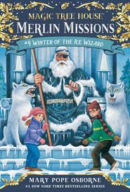 winter of the ice wizard magic tree house r merlin mission