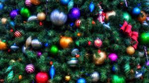 wallpaper 1920x1080 tree ornaments