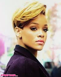 rihanna short hairstyle celeb hair pinterest short hairstyle