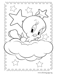 tweety colouring pages coloring