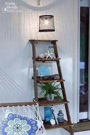 Diy Ladder Shelf Shelves Tutorials by 195 Best Diy Images On Pinterest Doors Woodwork And Wood