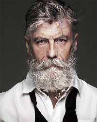 am i to old at sixty to have a beachy look hairstyle 60 year old man becomes a fashion model after growing a beard 10
