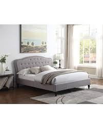 curved bed frame amazing deal home life premiere curved classics cloth light grey
