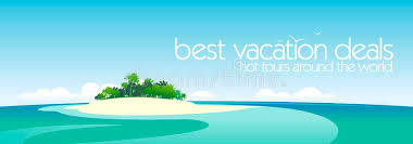 best vacation deals design template stock vector illustration of