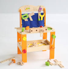 Toy Wooden Tool Bench Personalised Wooden Tool Bench My 1st Years