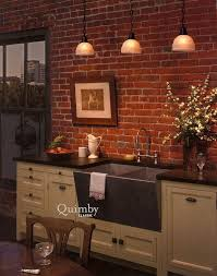 brick kitchen ideas 40 best i brick walls images on home