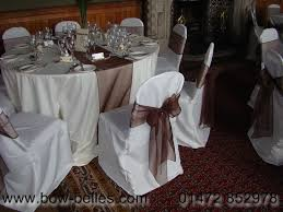 white wedding chair covers wedding chair cover hire