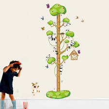 cartoon animal decor kids children height measurement growth chart cartoon animal decor kids children height measurement growth