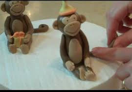 monkey cake topper how to make a monkey cake topper mycakeschool my cake