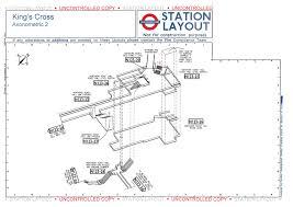 layout maps of kings cross tube station u2013 ianvisits