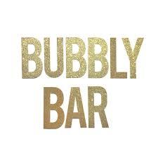 Bridal Shower Signs Amazon Com Bubbly Bar Banner Bachelorette Party Decorations