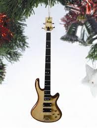 gifts bass guitar bass ornament