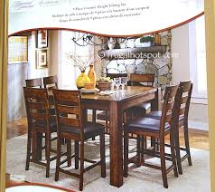 costco kitchen furniture universal furniture broadmoore 9 counter height dining set
