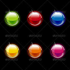 tutorial illustrator glass set of glass buttons by vecster graphicriver