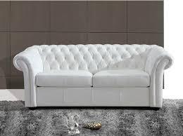 canape chesterfield blanc canapé chesterfield cuir blanc canapé idées de décoration de