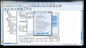 modern repeated measures analysis using mixed models in spss 2