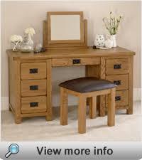 Single Pedestal Dressing Table Bedroom Furniture Dressing Tables