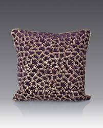 strongwater pillows scallop pattern pillow by strongwater at horchow wall