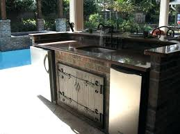 Outdoor Island Lighting Prefab Outdoor Kitchen Grill Islands Kitchen Island Lighting