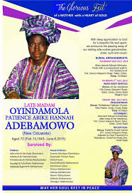 ayo adebamowo a tribute to my late mum from the depth of my heart