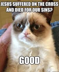 Jesus Cat Meme - jesus suffered on the cross cat meme cat planet cat planet