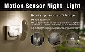 Motion Sensors For Lights Sensky Plug In Motion Night Light Skl001 Motion Activated Led