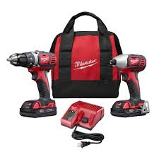 Home Depot Deal Of The Day by Milwaukee M18 18 Volt Lithium Ion Cordless Drill Driver Impact