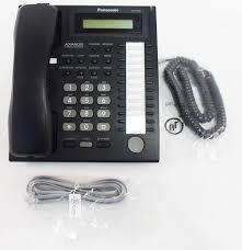 amazon com panasonic kx t7730 telephone black corded