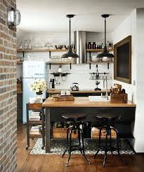 island style kitchen design industrial style kitchen designs table and chairs island