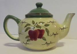home interiors apple orchard collection home interiors apple orchard collection painted tea pot ebay