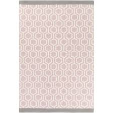 Light Pink Area Rug Wrought Studio Blitar Crafted Light Pink Gray Area Rug Within