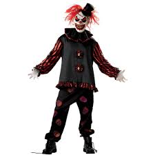 spirit halloween dress code clown costumes