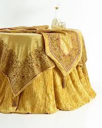 Gourmet Table Skirts Designer Tablecloths U0026 Runners At Neiman Marcus