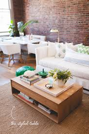 Style A Coffee Table How To Style Your Coffee Table Coffee Fresh Green And Dining