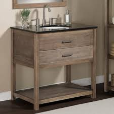Furniture Bathroom Vanity by Elements 36 Inch Granite Top Single Sink Bathroom Vanity Overstock