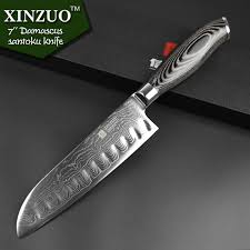 damascus kitchen knives for sale aliexpress buy xinzuo 5 pcs kitchen knives set 73 layer