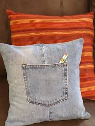 How To Make Sofa Pillow Covers How To Make A Throw Pillow Cover With Recycled Jeans Throw