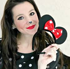Mickey Mouse Makeup For Halloween by Simple Minnie Mouse Makeup Makeup Vidalondon