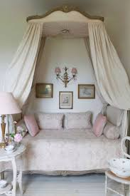 shabby chic daybed with canopy pink home vintage decorate canopy