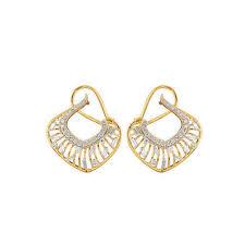 real diamond earrings trendy real diamond earrings at rs 56178 pair heere ki baali