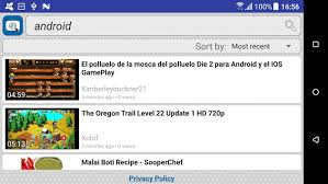 most recent android update search for dailymotion apk version app for