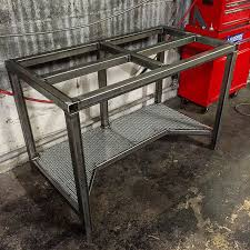 diy welding table plans welding table picture thread page 13 metal projects pinterest