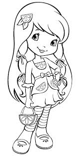 strawberry shortcake coloring pages to print free printable cartoon strawberry shortcake lemon meringue lemon