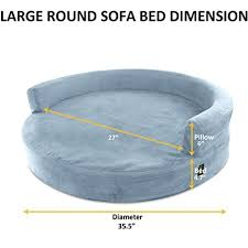 Round Sofa Bed by Amazon Com Kopeks Deluxe Orthopedic Memory Foam Round Sofa