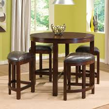 round bar table and stools round pub table with nesting stools round designs