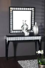 Quartz Console Table Black Mirrored Console Table Quartz Orchid Biophilessurf Info