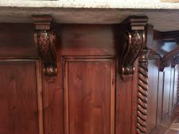 Kitchen Island Corbels Kitchen Craftsman Style Brackets Kitchen Islands With Corbels