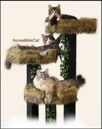 modern cat tree cat scratching post trees 4 u0027 high boulder designer cat
