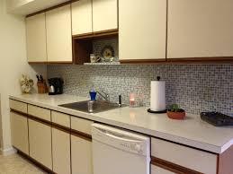 Vinyl Kitchen Backsplash Kitchen Kitchen Backsplash Wallpaper Pretty Peel And Stick Vinyl